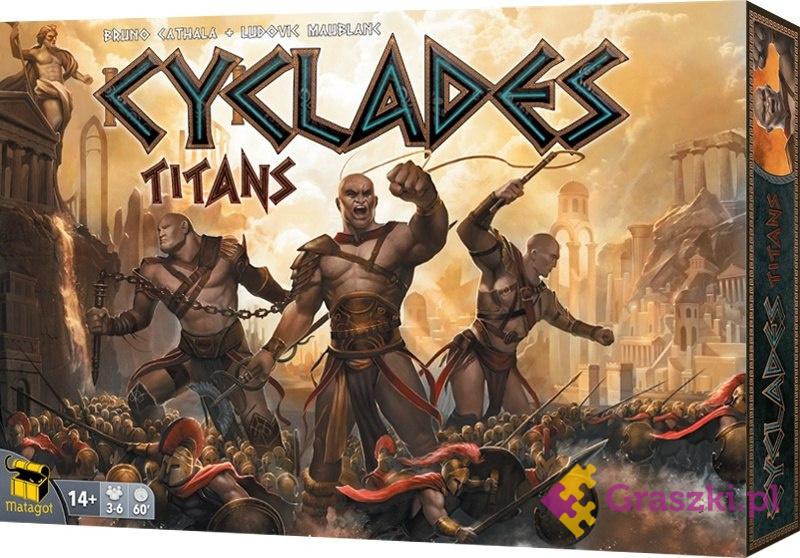 Cyklady: Tytani | Rebel
